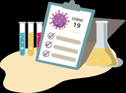 Covid Test Kits Logo