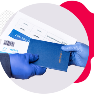COVID-19 PCR Test Travel Certificate Guaranteed Ready Next Day 15:00