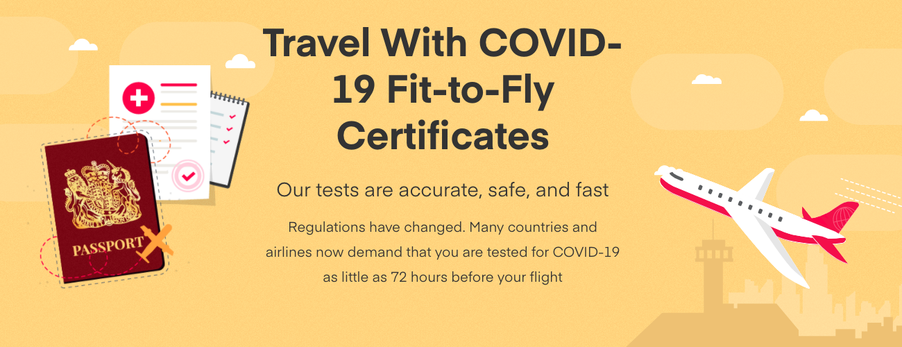 How to Get a COVID Fit to Fly Certificate If You Can't Get Tested