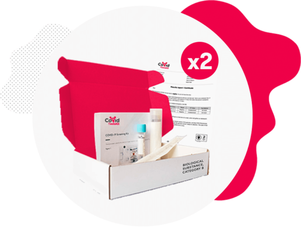 PCR Test Kit (Double Pack)