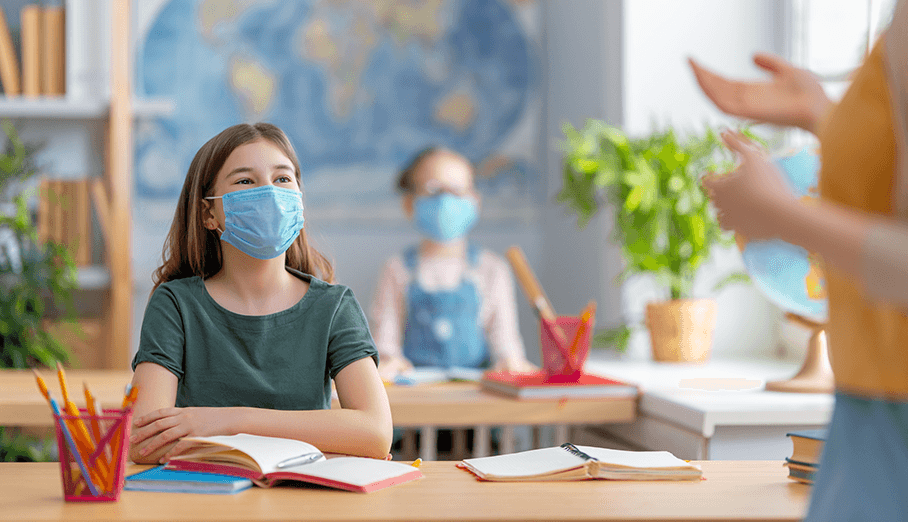 Confusion and Controversy over Face Masks in School
